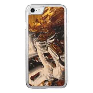 Querbestäubung abstrakt carved iPhone 8/7 hülle