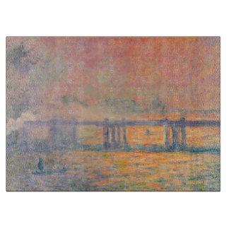 Querbrücke Claude Monets Charing Schneidebrett