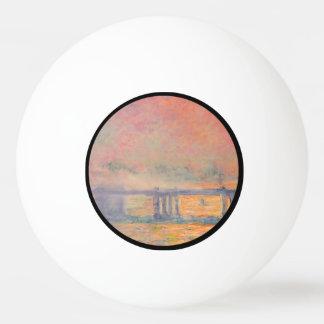 Querbrücke Claude Monets Charing Tischtennis Ball