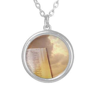 Querer christlicher religiöser Halsketten-Schmuck Versilberte Kette
