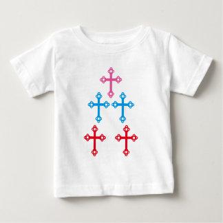 QUERES heilendes heiliges Schein Christentum Baby T-shirt