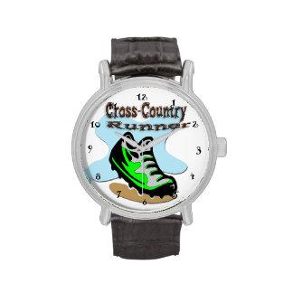 Querfeldeinläufer-Uhr Uhren