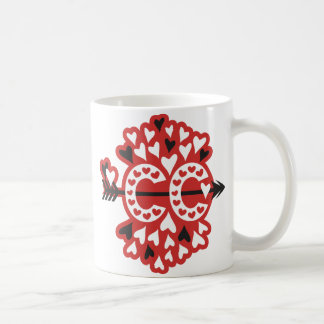 Querland-laufende Liebe Kaffeetasse
