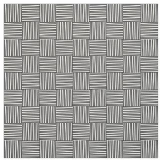Querluken-Muster-Gewebe, Fünfzigerjahre Retro Stoff