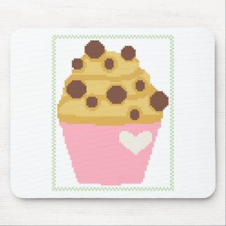 Querstich-Schokoladensplittermuffin Mousepads