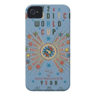 Quidditch Weltmeisterschaft-Blau iPhone 4 Case-Mate Hülle