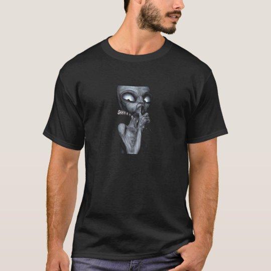 """""""Quiet Alien"""" T Shirt"""