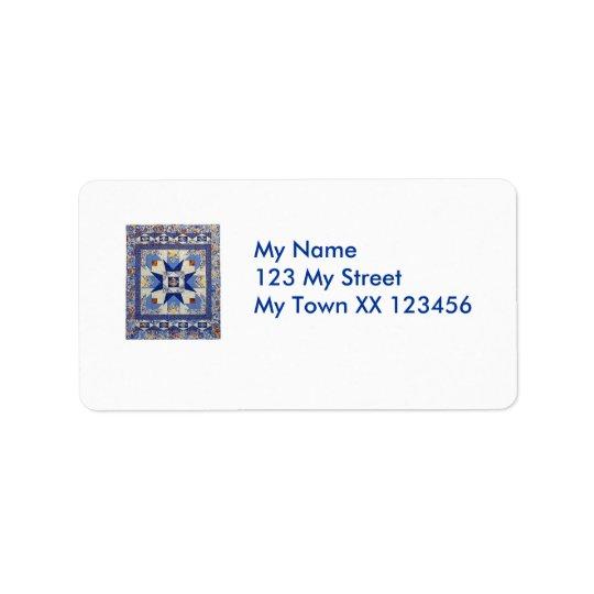 Quilty Adressen-Etiketten Adressetiketten