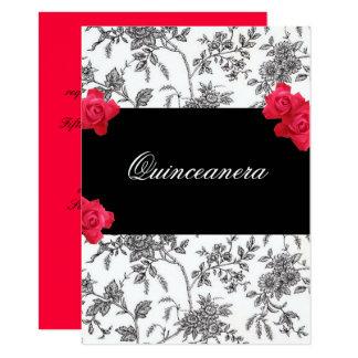 Quinceanera Einladung/Bonbon fünfzehn 11,4 X 15,9 Cm Einladungskarte