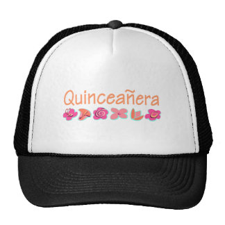 Quinceanera (Pfirsichfarbe) Trucker Caps