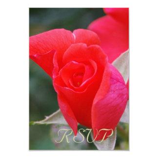 Quinceanera UAWG Rote Rose 8,9 X 12,7 Cm Einladungskarte