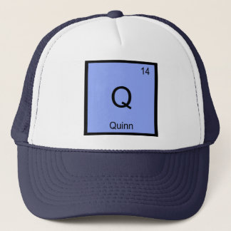 Quinnnamenschemie-Element-Periodensystem Truckerkappe