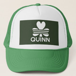 Quinns St Patrick Tageshut Truckerkappe