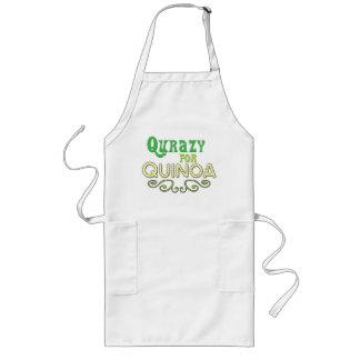 Qurazy für Reismelde © - lustiger Reismelde-Slogan Schürze