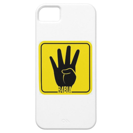 R4BIA, free Egypt, Stop Killing Inocents Hülle Fürs iPhone 5
