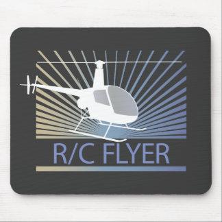 R-C Flyer-Hubschrauber Mauspad