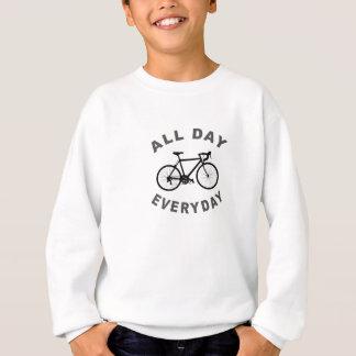 R-den ganzen Tag radfahren Sweatshirt