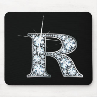 """R-"" Diamant Bling Mousepad"