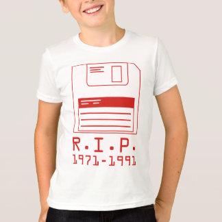 R.I.P. 1971-1991 Diskette T-Shirt