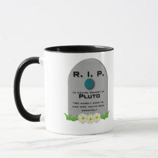 R.I.P. Pluto Tasse