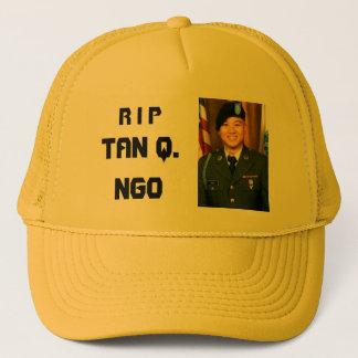 R I P, TAN Q. Ngo Truckerkappe