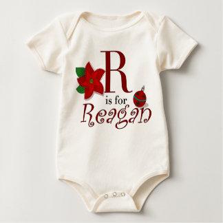 R ist für Reagan, erster T - Shirt des Babys