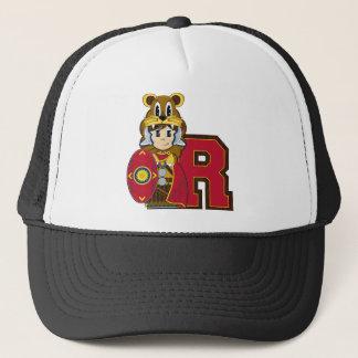 R ist für römischen Soldaten Truckerkappe