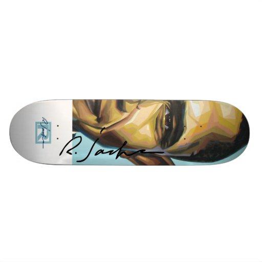 R. Jackson-Unterzeichnung barakboard Skate Board