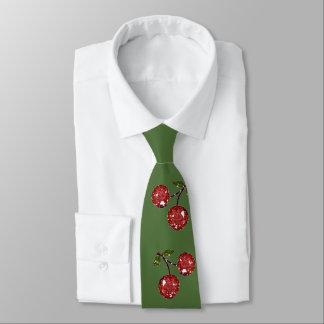 RAB Rockabilly sehr Kirschkirschweihnachten Krawatte