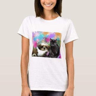 Rabe und Maya T-Shirt