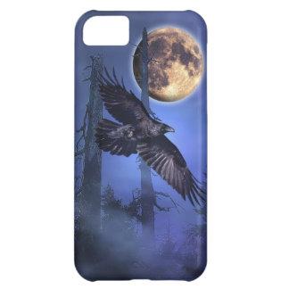 Rabe und Mond-Fantasie-wild lebende Tiere iPhone iPhone 5C Hülle