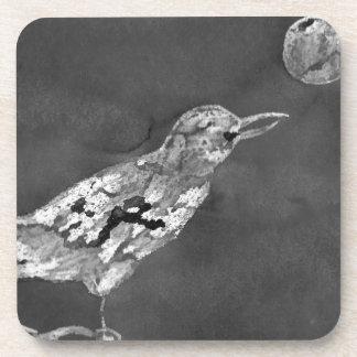 Rabe und Mond Untersetzer