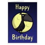 Raben-Geburtstags-Karte