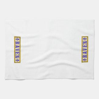 Raben-Lilien-Küchen-Tücher Handtuch