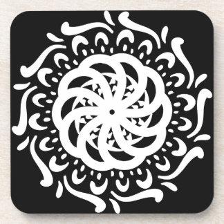 Raben-Mandala Untersetzer