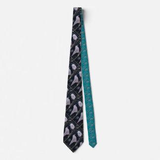 Raben-Mond-Krawatte Bedruckte Krawatten
