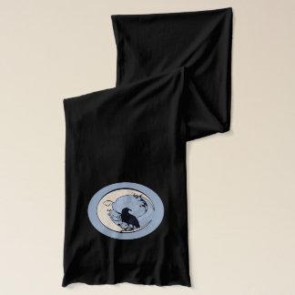 Raben-Mond-Schal Schal