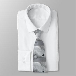 Raben-und Wetter-Schaufel-Krawatte Bedruckte Krawatte