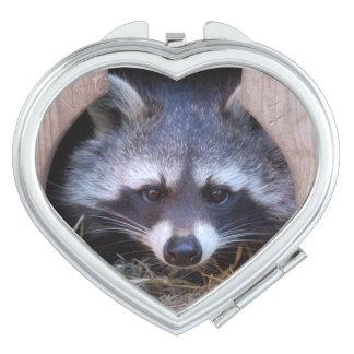 Raccoon - Waschbär - by Jean-Louis GLINEUR Schminkspiegel