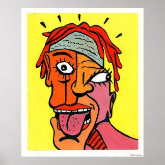 """Rache (20x 24"""") poster"""