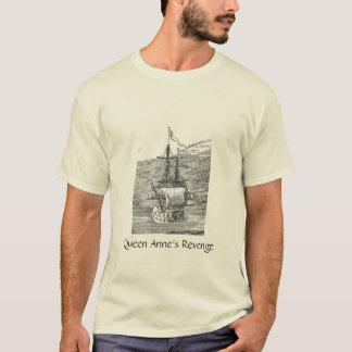 Rache der Piraten-Schiffs-Königin-Anne T-Shirt