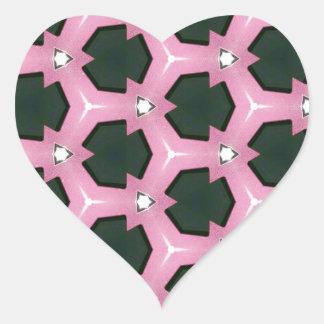 Rache der Rose 1 Herz-Aufkleber