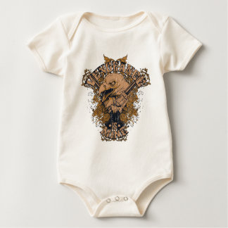 Rache Eagle Baby Strampler
