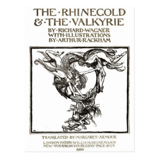 Rackhams Rhinegold Postkarte
