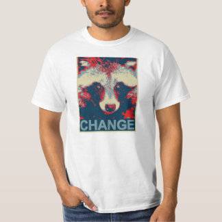 Racoon für prezident t shirt