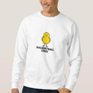 Racquetball-Küken Sweatshirt
