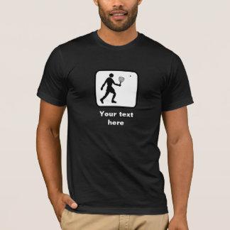 Racquetball-Logo -- Kundengerecht T-Shirt