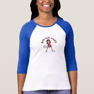 Racquetball-Mädchen (Licht) T-Shirt