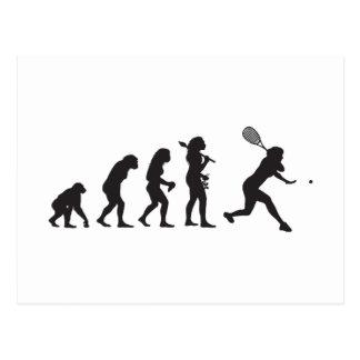 Racquetball Postkarte
