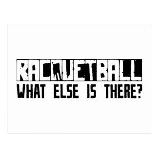 Racquetball, was sonst dort ist? postkarte